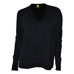 QMack Long Sleeve V-Neck Pullover Sweater, XS